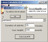 Free diet software for calorie counting and weight loss.